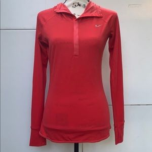Nike women's Dry-fit hooded top  size S